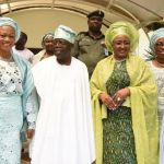 President Buhari's wife, Aisha, visits Asiwaju Tinubu at Bourdillion