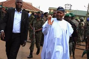 President Dangote Group, Alhaji Aliko Dangote on arrival