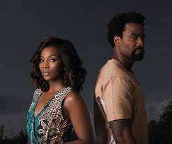 """""""Road To Yesterday"""" starring Genevieve Nnaji (l) and Oris Erhuerho"""