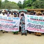 (Photonews) Pensioners protest in Edo
