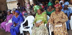 Cross Section of Worshipers at the Annual Thanksgiving Service of  Olive Mountain of prayer and Praise Ministry ijegun  held at the Church premise   in Lagos  recently .