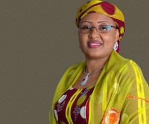 Mrs Aisha Buhari, wife of President Buhari