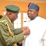 Ambode backs military in fight against insurgency; Launches Armed Forces Remembrance Day Emblem