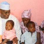 (Photonews) Atiku visits Orphanage for Boko Haram victims, attends wedding faitha of Suntai's daughter in Yola