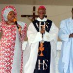 (Photonews)  Dr Kayode Fayemi, Engr Segun Oni, others at thanksgiving service in Ekiti
