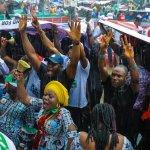Secondus says Buhari now ruling with his army uniform  ……As Jonathan, Atiku, Dickson explain why he must go