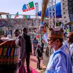 Campaign train: Buhari in Yobe, pledges improved security in North-East; Storms Borno