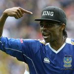 Weah, Drogba, Eto'o, Toure, Kanu, Okocha, others storm Lagos for match for Ambode