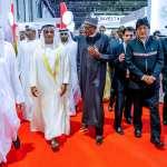 In Dubai, President Buhari calls for safe, inclusive digital world; Meets, invites investors to come to Nigeria and prosper