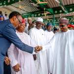 National Democracy Day: President Buhari, others attend celebration in Abuja