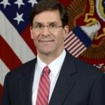 U.S. Senate confirms army chief, Mark Esper as Secretary of Defence