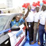 Dangote Cement Bag of Goodies promo records first star prize winner;Abraka-based retailer wins car