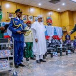 Nigeria is winning war against terror, says President Buhari at Jaji; Speaks on phone with Pa Fasoranti