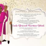 Eniola Gloria Araromi weds Oluwaseun Gabriel Joseph