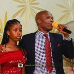 Girl slumps in front of altar during RCCG thanksgiving service