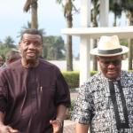 Pastor Adeboye, RCCG General Overseer with Gov. Wike of Rivers