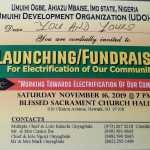 Umuihi Development Organisation-USA organizes Launching/Fundraising for electrification of community