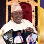 President Buhari congratulates GOCOP President, Dotun Oladipo, on 50th birthday
