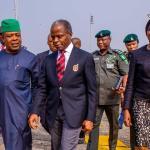 Vice President Osinbajo visits Imo State; Gov. Ihedioha welcomes him