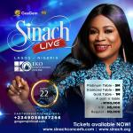 Sinach to shut down Eko Hotel with Annual Mega Gospel Concert