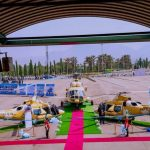President Buhari inducts combat Helicopters, assures on end of terrorism