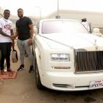 Excitement as Kelly Junior, first winner of Konga Travel Rolls Royce promo, arrives airport in style    Says God bless Konga Travel; They gave me treat of a lifetime
