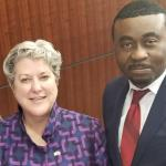 Mbonu Meets New US Ambassador to Nigeria in Washington DC-Discusses Insecurity In Nigeria.