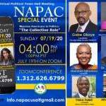 Nigerian Americans in Politics hold Zoom meeting tomorrow, Sunday, July 19.