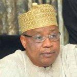 Buhari, Atiku, Lawan, Mark, Okowa greet Babangida at 79