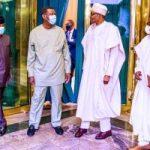 RCCG G.O, Pastor Adeboye visits President Buhari