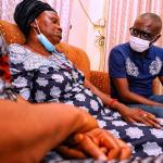 EndSARS: When Sanwo-Olu visited Ikechukwu Iloamuazor's widow …Says deceased won't die in vain  …Eyewitness relives how he died