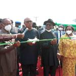 Wike assures of continued good governance as Obi commissions projects in Rivers