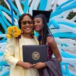 Isabel, Deaconess Linda Middleton's daughter, graduates