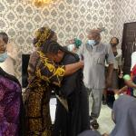 Air crash: Vice President Osinbajo's wife visits wives, families of officers that died