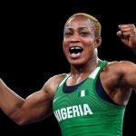 Tokyo Olympics: Oborududu, Brume lead Team Nigeria back to rousing Abuja welcome