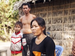 Touch Ith, a key activist for her village