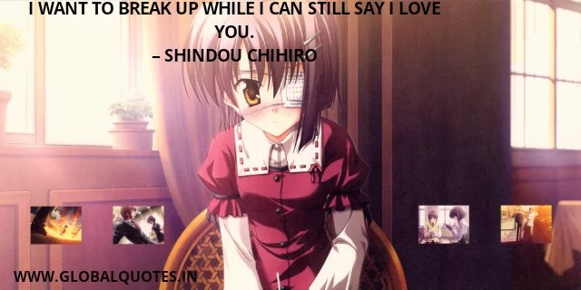 Anime Quotes on Love