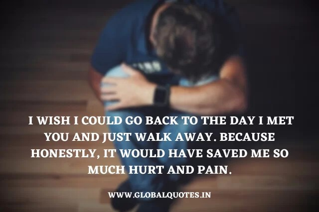 Quotes About Hurting
