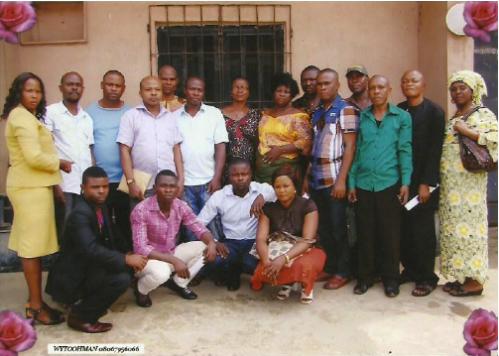 nigeria waste pickers' meeting