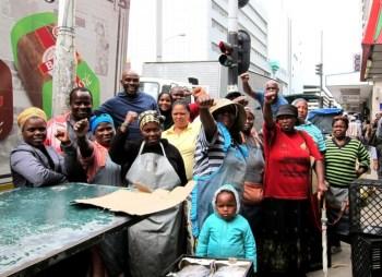 Winners of the day: global recyclers. Photo credits: Asiye Etafuleni.