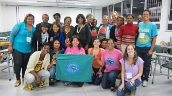 Foto de grupo do projeto gênero.