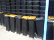 6,000 wheely bins for Vaalpark project. Photo: groundwork