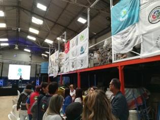 Lanzamiento de la planta de madera plástica de la Asociación de Recicladores de Bogotá