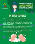 Prevención coronavirus COVID-19 en otros espacios. ANR Colombia.