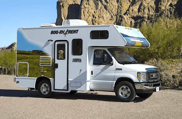 Select the right RV to rent