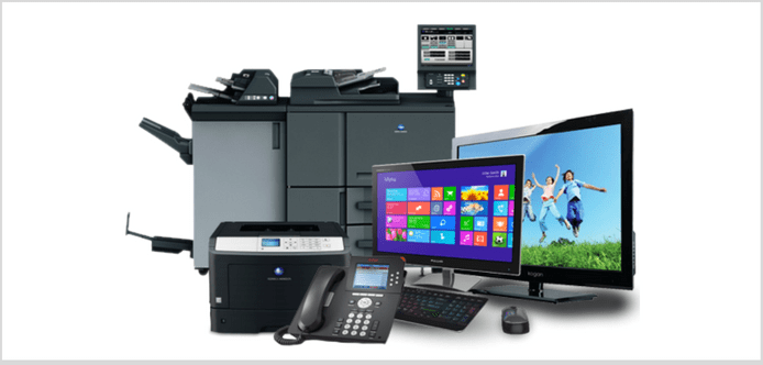 Technological rental for businesses