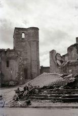 Oradour: The church Circa nov. 1944