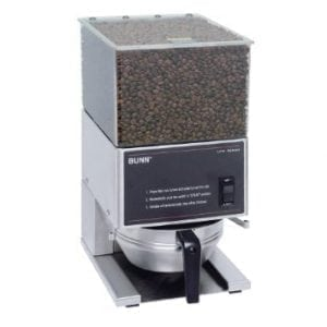 Coffee Grinder - Equipment - Global Restaurant Source - Bunn