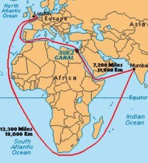 suez_canal_map_indian_ocean_atlantic_mediterranean_ocean_routes