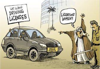Saudi-Arabia-Women-Drivers-Cartoon